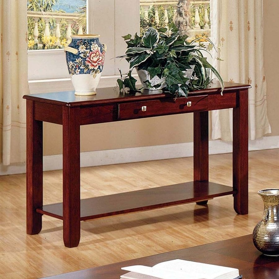 Steve Silver Company Nelson Cherry Rectangular Console and Sofa Table