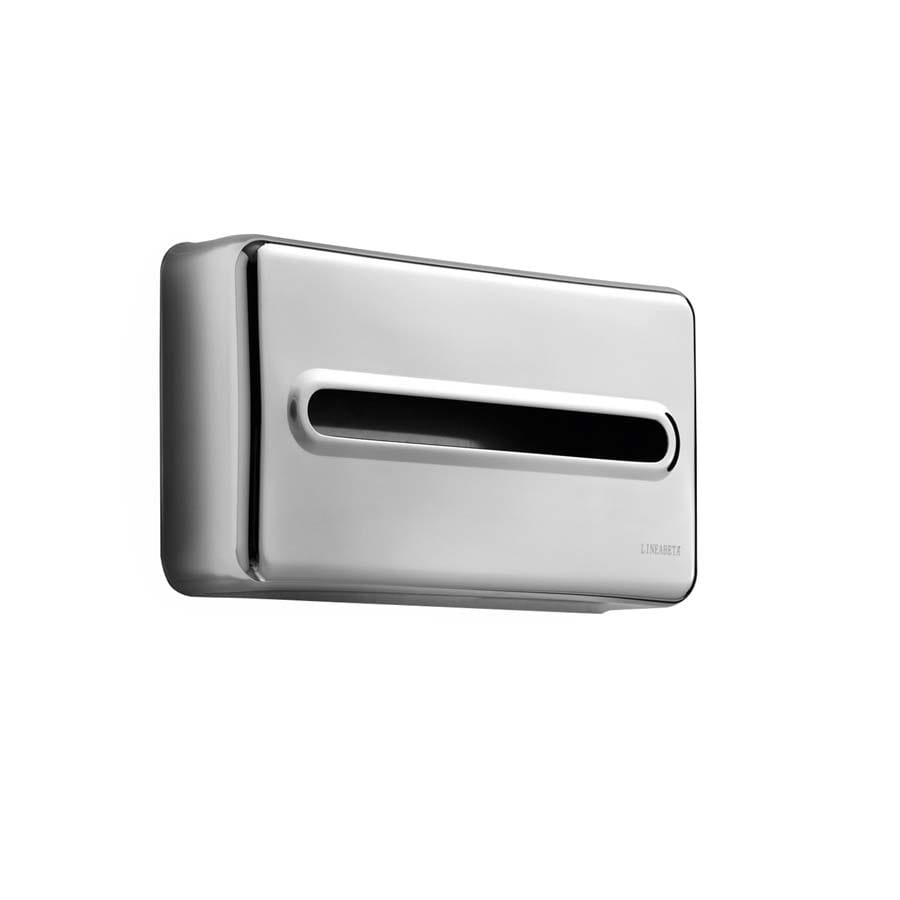 WS Bath Collections Otel Steel-Stainless Stainless Steel Tissue Holder