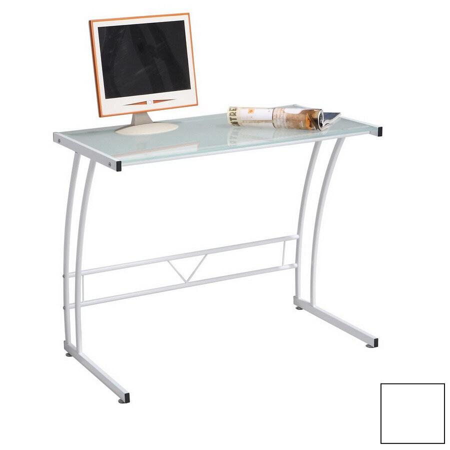 Lumisource Sigma White Computer Desk