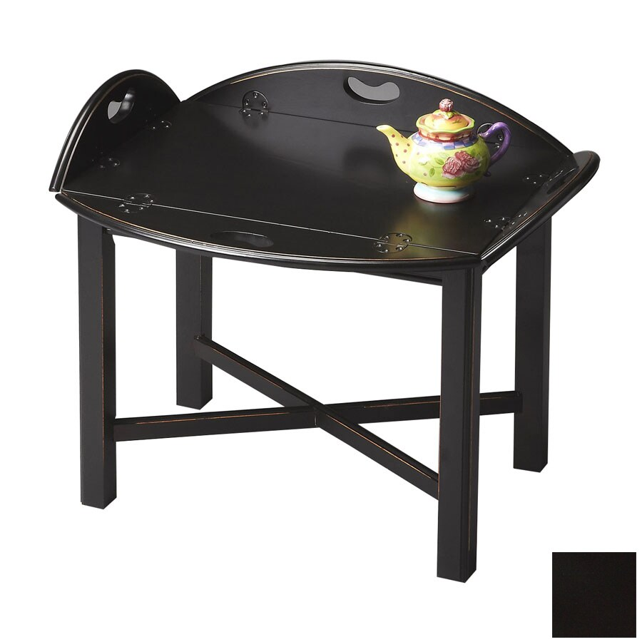 Butler Specialty Masterpiece Black Licorice Oval Coffee Table