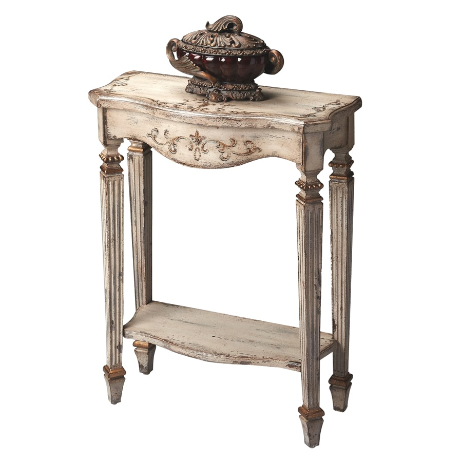 Butler Specialty Artists' Originals Gilded Cream Rectangular Console and Sofa Table