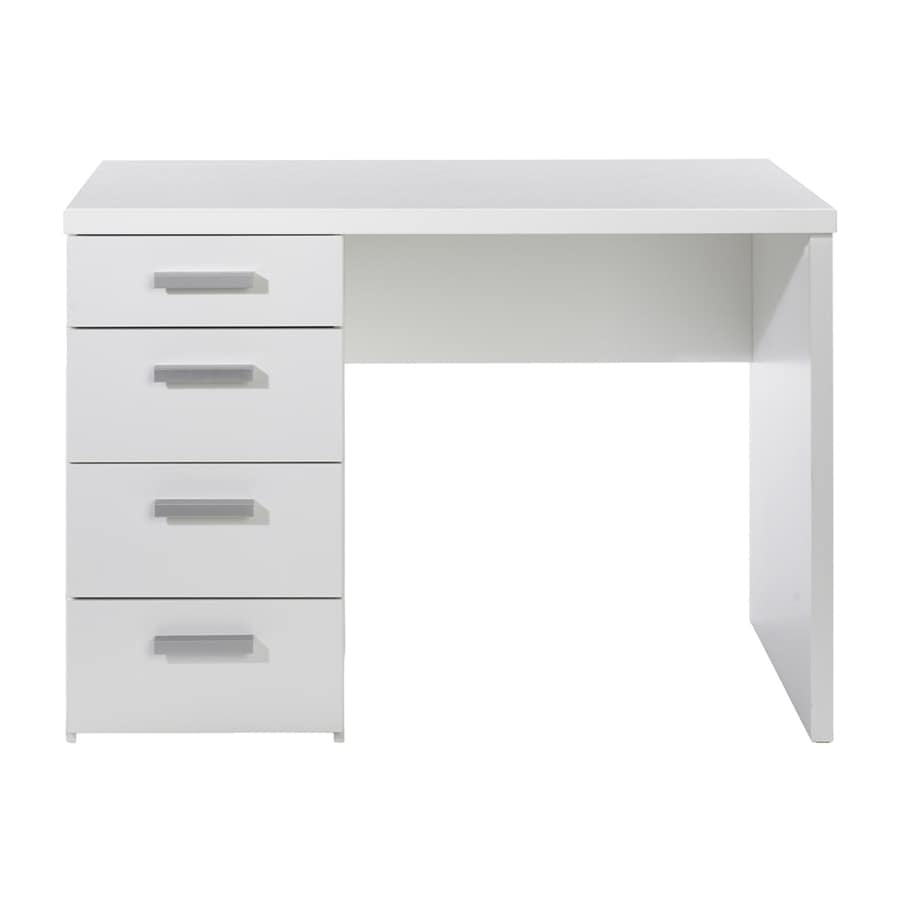 Shop tvilum whitman white computer desk at for Cheap home furniture canada