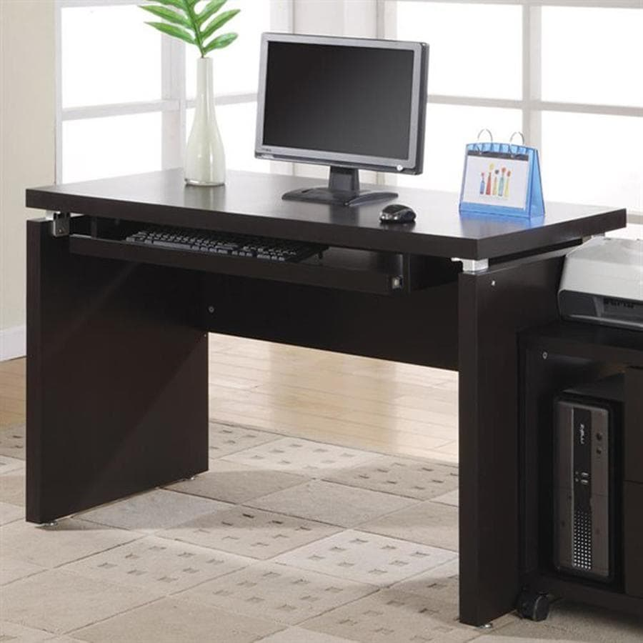 Shop monarch specialties cappuccino computer desk at - How to access my office computer from home ...