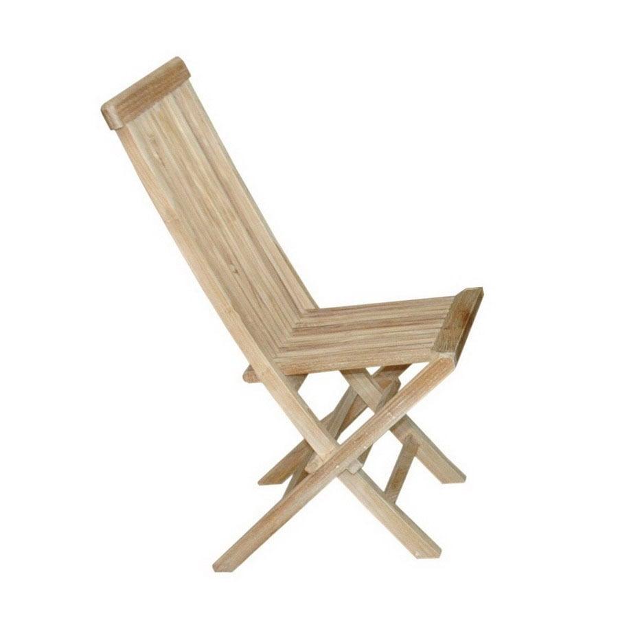 Anderson Teak Set of 2 Classic Teak Side Chairs