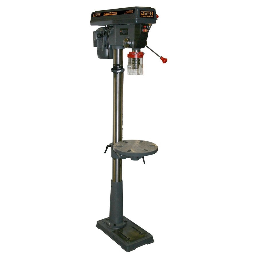 Shop buffalo tools black bull 4 8 amp floor drill press at for Chuck s hardwood flooring