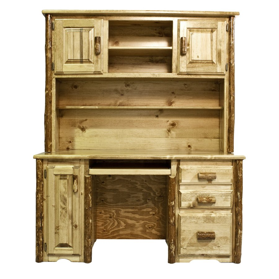 Montana Woodworks Glacier Country Stained/Lacquered Computer Desk