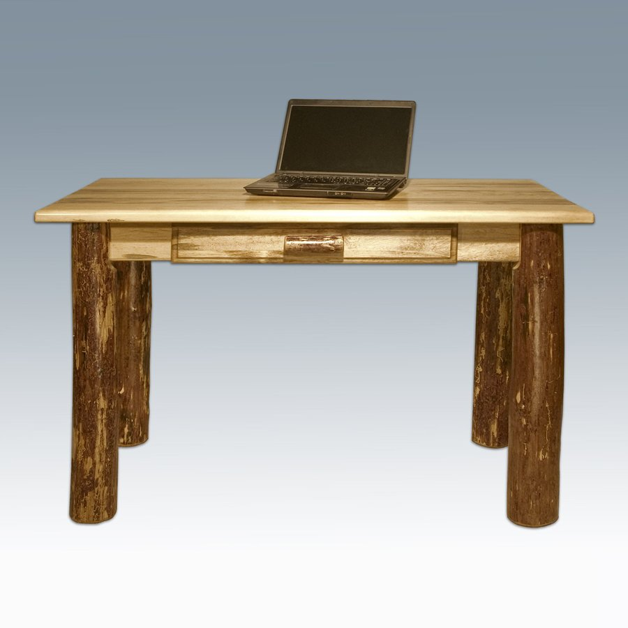 Montana Woodworks Glacier Country Stained/Lacquered Writing Desk