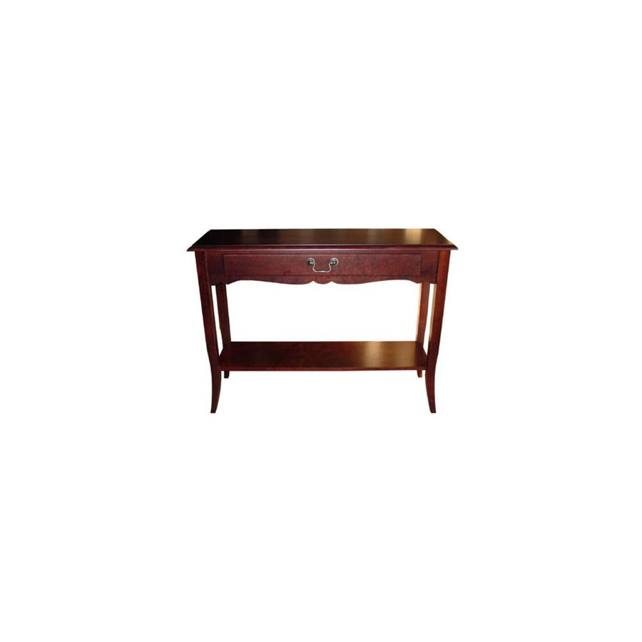 Cooper Classics Gloucester Cherry Birch Rectangular Console and Sofa Table