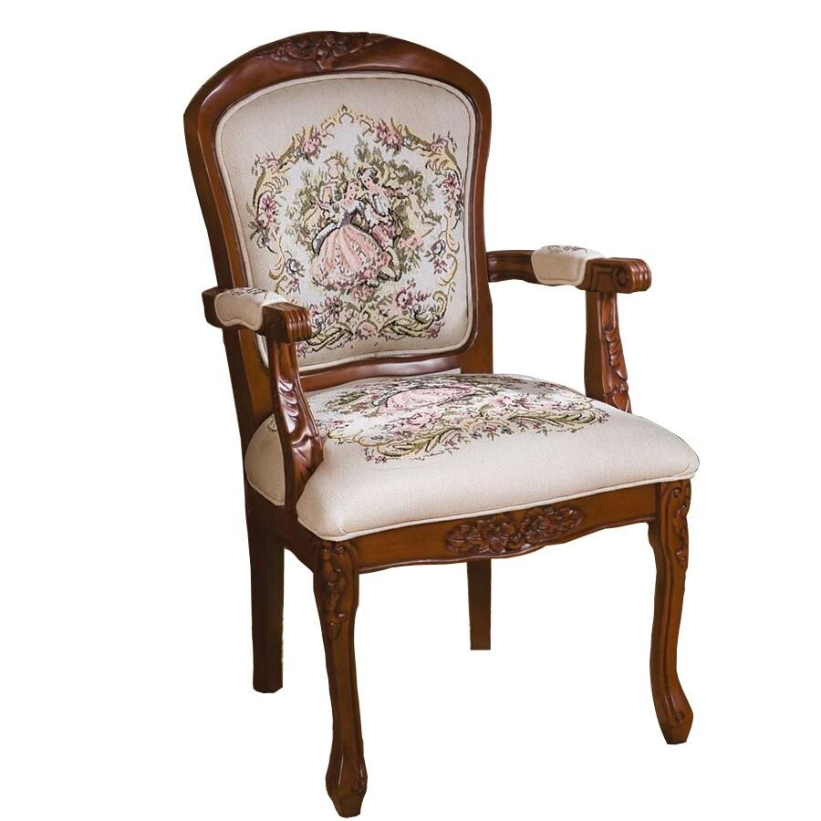 Design Toscano La Danse Du Printemps Fauteuil Ivory Accent Chair