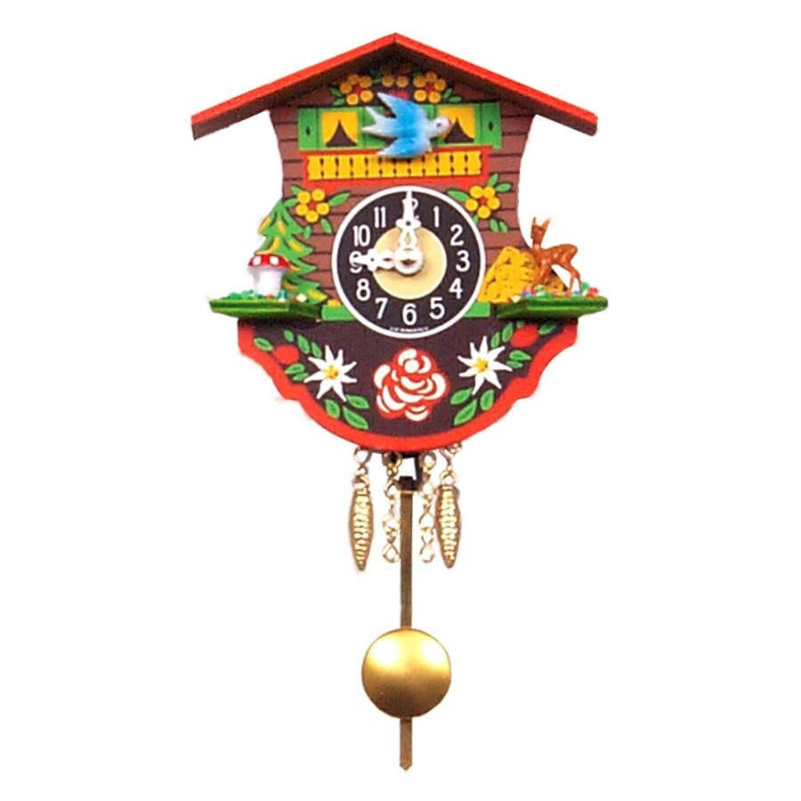 Alexander Taron Analog Chalet Indoor Wall Cuckoo Clock