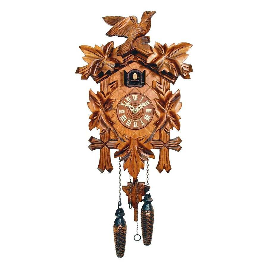 Alexander Taron Analog Chalet Indoor Wall Cuckoo Clock