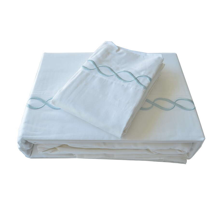 North Home Bedding Barcelona Queen Egyptian Cotton Sheet Set