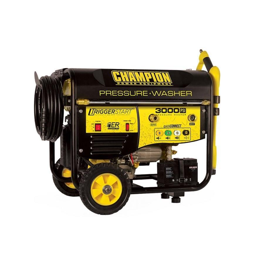 Champion Power Equipment 3,000-PSI 2.5-GPM Water Gas Pressure Washer