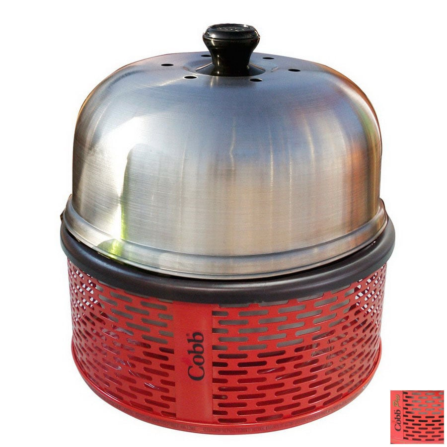 Cobb America 114-sq in Red Portable Charcoal Grill