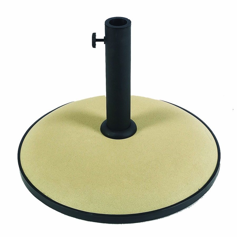 Shop Fiberbuilt Beige Patio Umbrella Base At