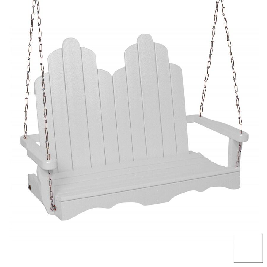 Beachfront Furniture 2-Seat Plastic Adirondek Swing