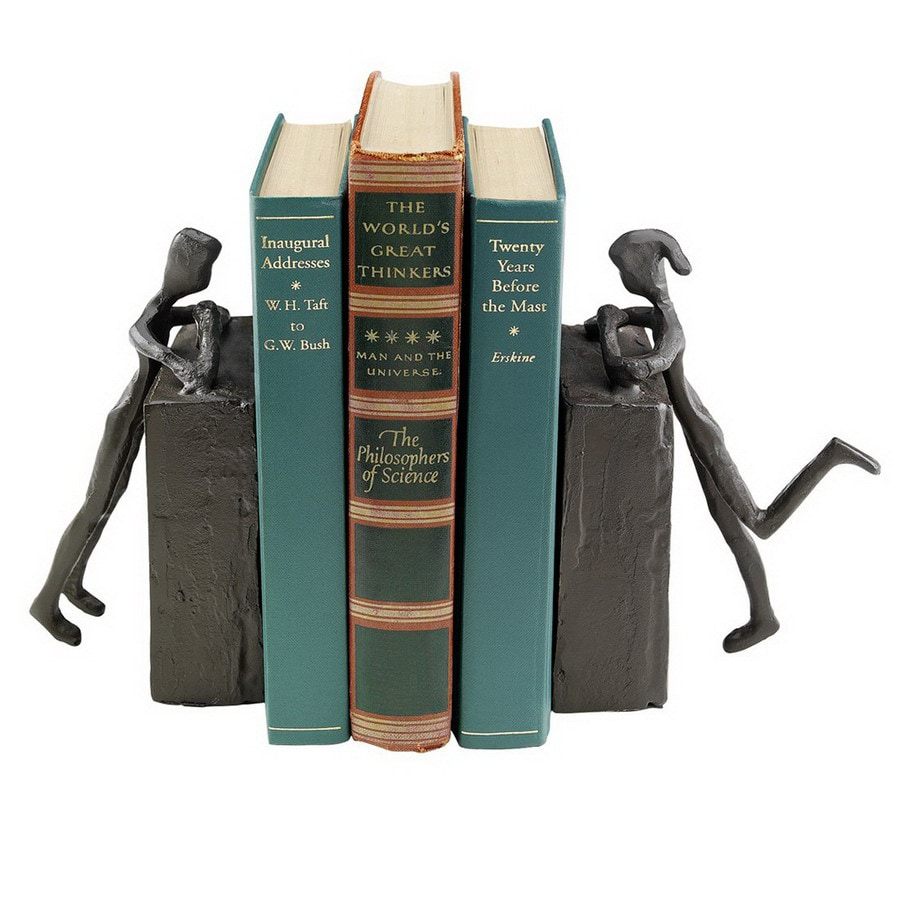 Design Toscano Hand Finished Foundry Iron Bookend