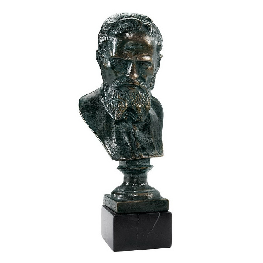 Design Toscano Hand-Finished Cast Iron Bust