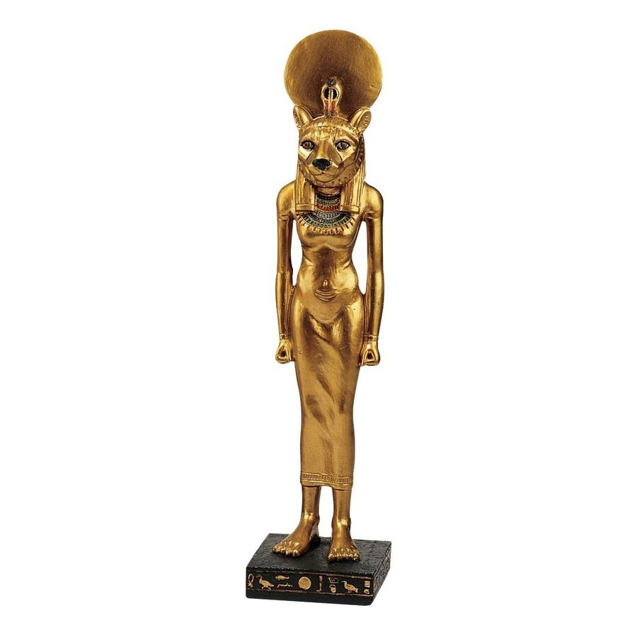 Shop design toscano resin egyptian goddess statue at - Statue resine design ...