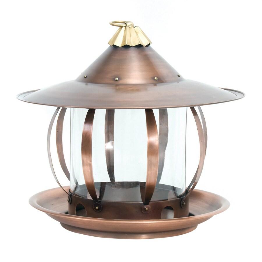 shop h potter san simeon steel platform bird feeder at. Black Bedroom Furniture Sets. Home Design Ideas