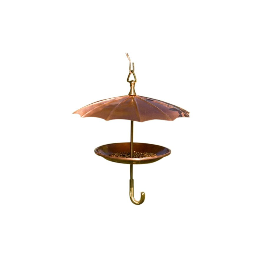 H. Potter Copper Squirrel-Resistant Platform Bird Feeder