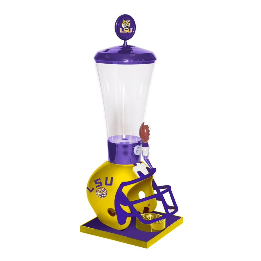 Wild Sports Gallon LSU Tigers Poly Beverage Dispenser