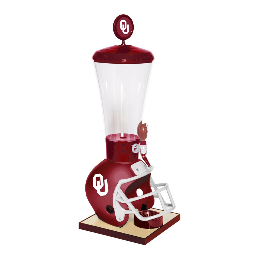 Wild Sports Gallon Oklahoma Sooners Poly Beverage Dispenser