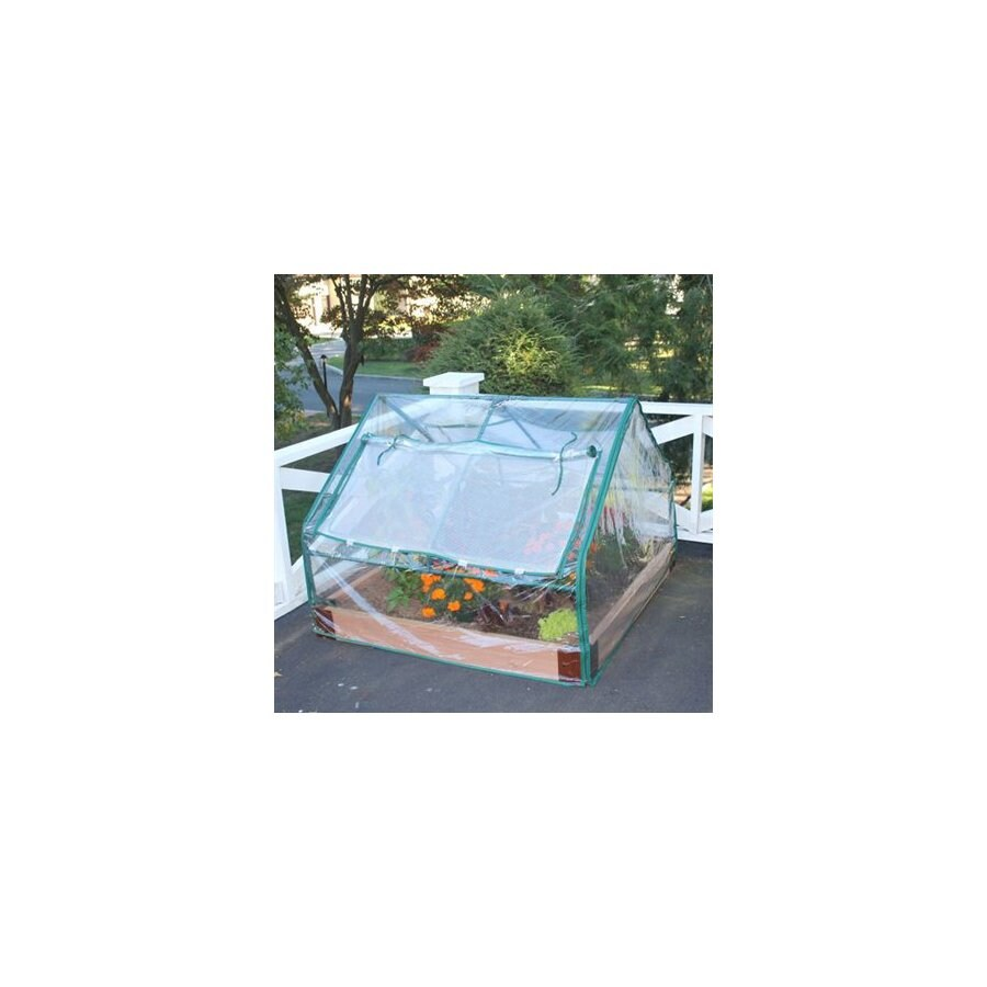 Scenery Solutions L X 48 Inches W X 6 Inches H Cedar Raised Garden Bed