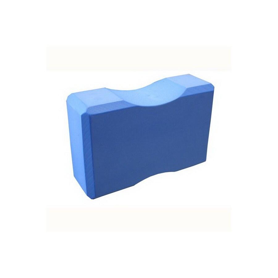 Amber Sporting Goods Blue Yoga Block