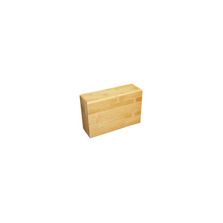 J FIT Bamboo Yoga Block