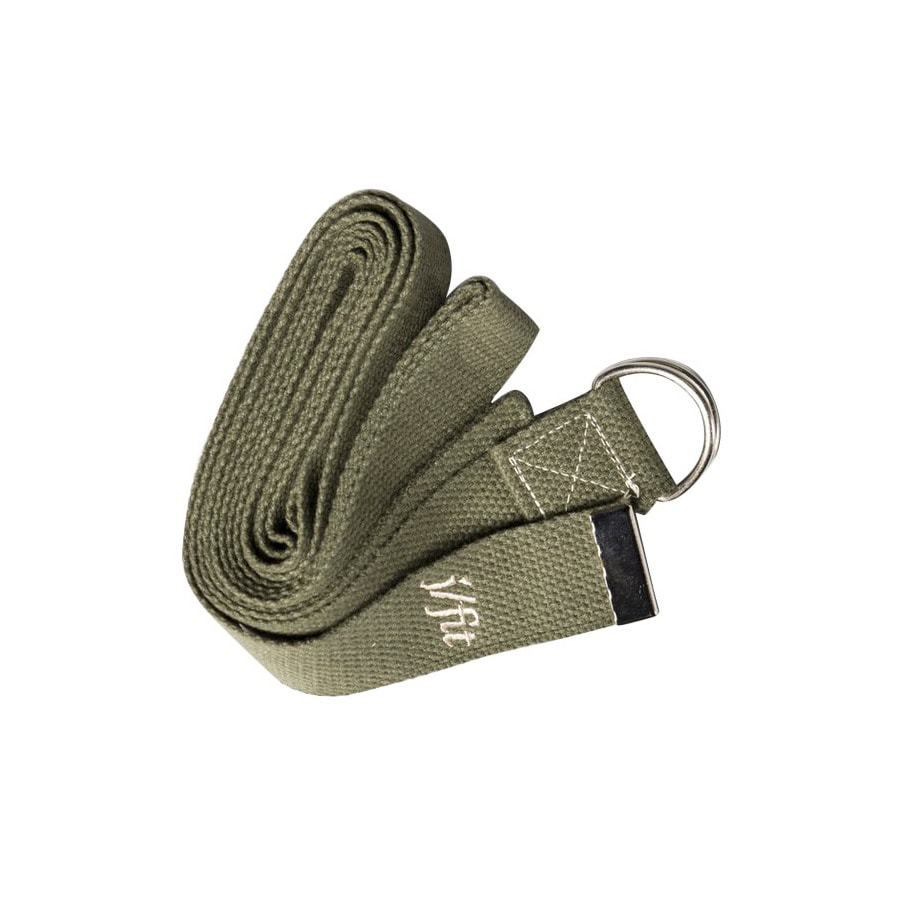 J FIT Olive Green Yoga Strap