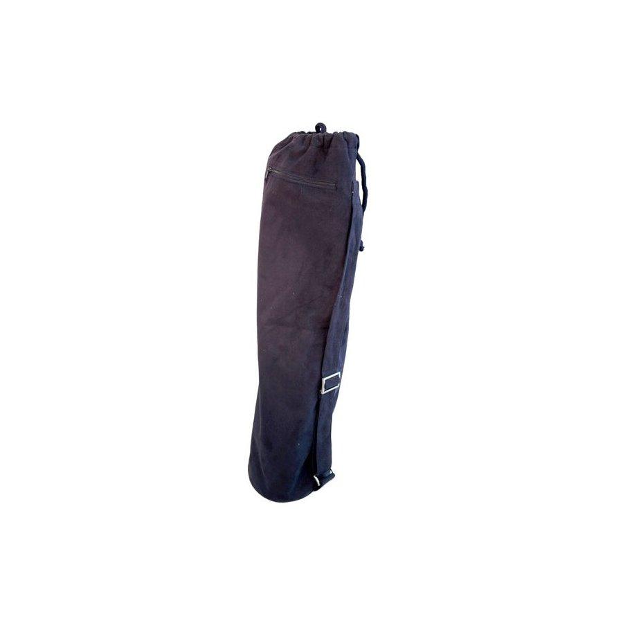 J FIT Navy Suede Yoga Mat Bag