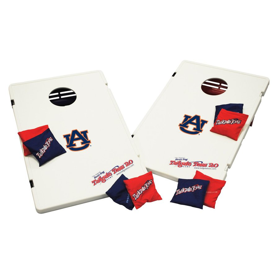 Wild Sports Auburn University Tigers Outdoor Corn Hole Party Game with Case