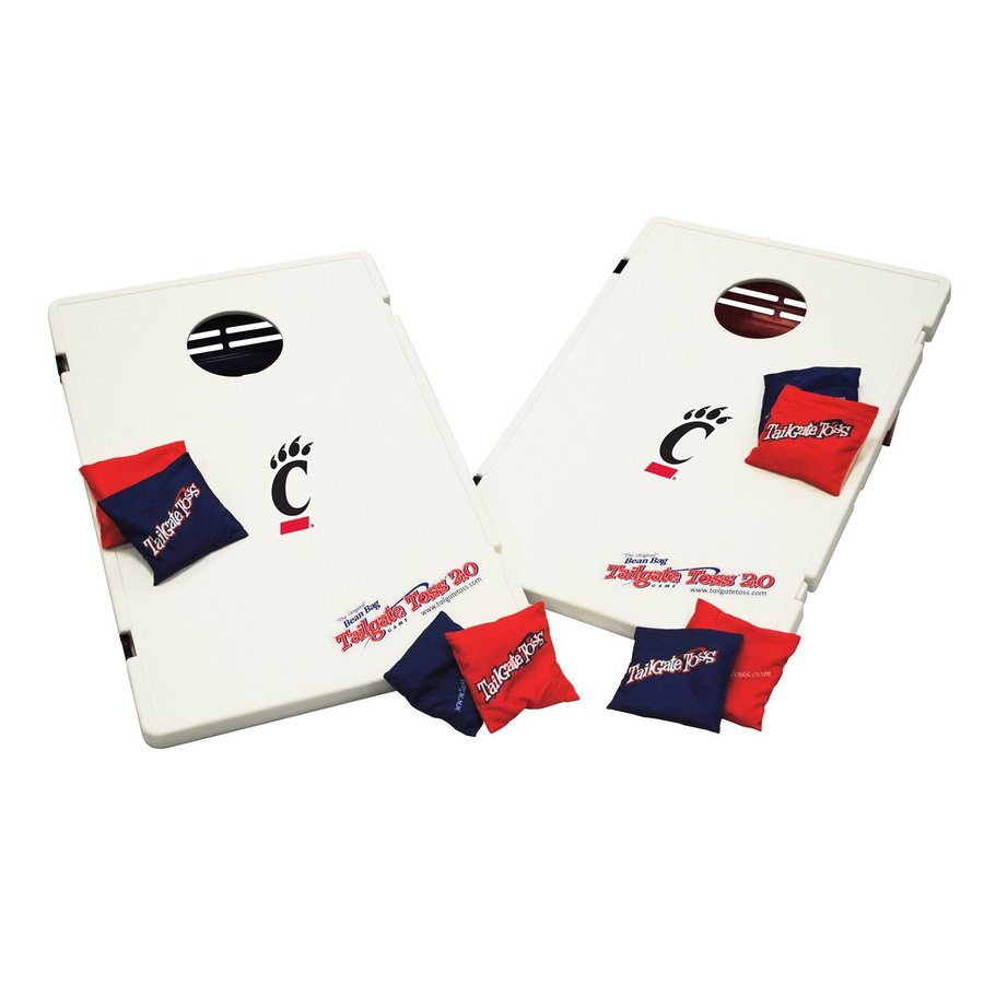 Wild Sports Cincinnati Bearcats Outdoor Corn Hole Party Game with Case