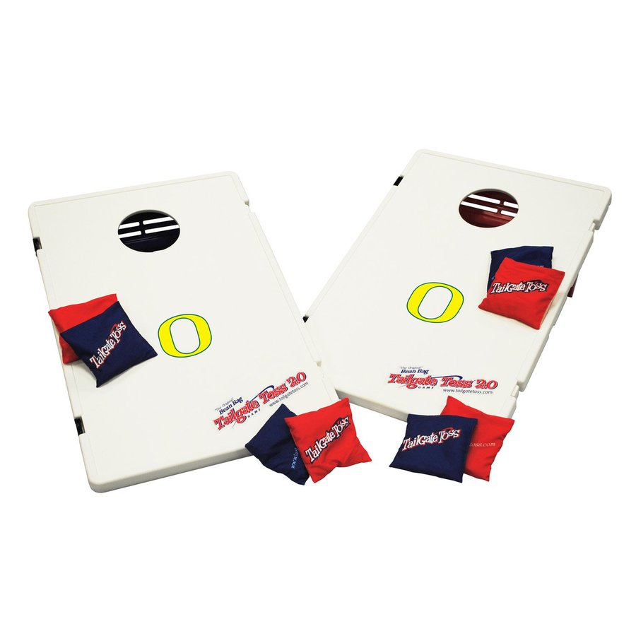 Wild Sports Oregon Ducks Outdoor Corn Hole Party Game with Case