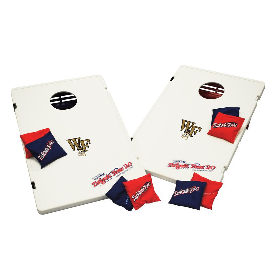 Wild Sports Wake Forest Demon Deacons Outdoor Corn Hole Party Game with Case