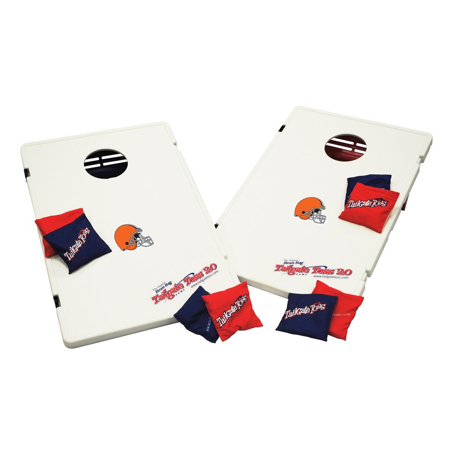Wild Sports Cleveland Browns Outdoor Corn Hole Party Game with Case