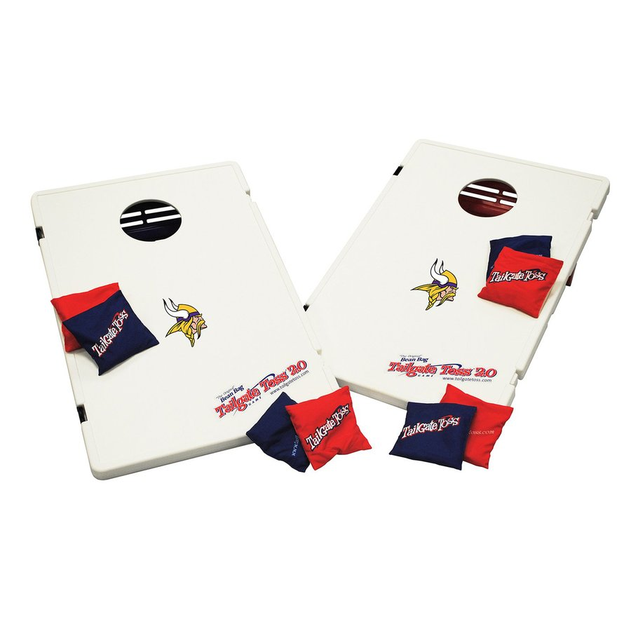 Wild Sports Minnesota Vikings Outdoor Corn Hole Party Game with Case