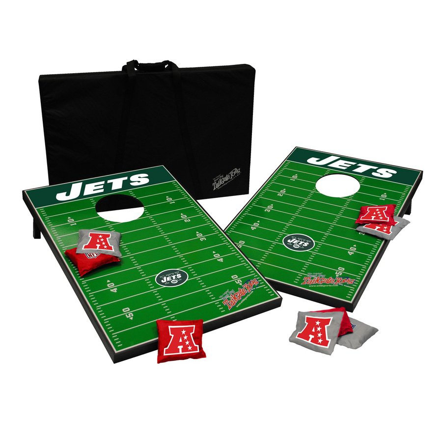 Wild Sports New York Jets Outdoor Corn Hole Party Game