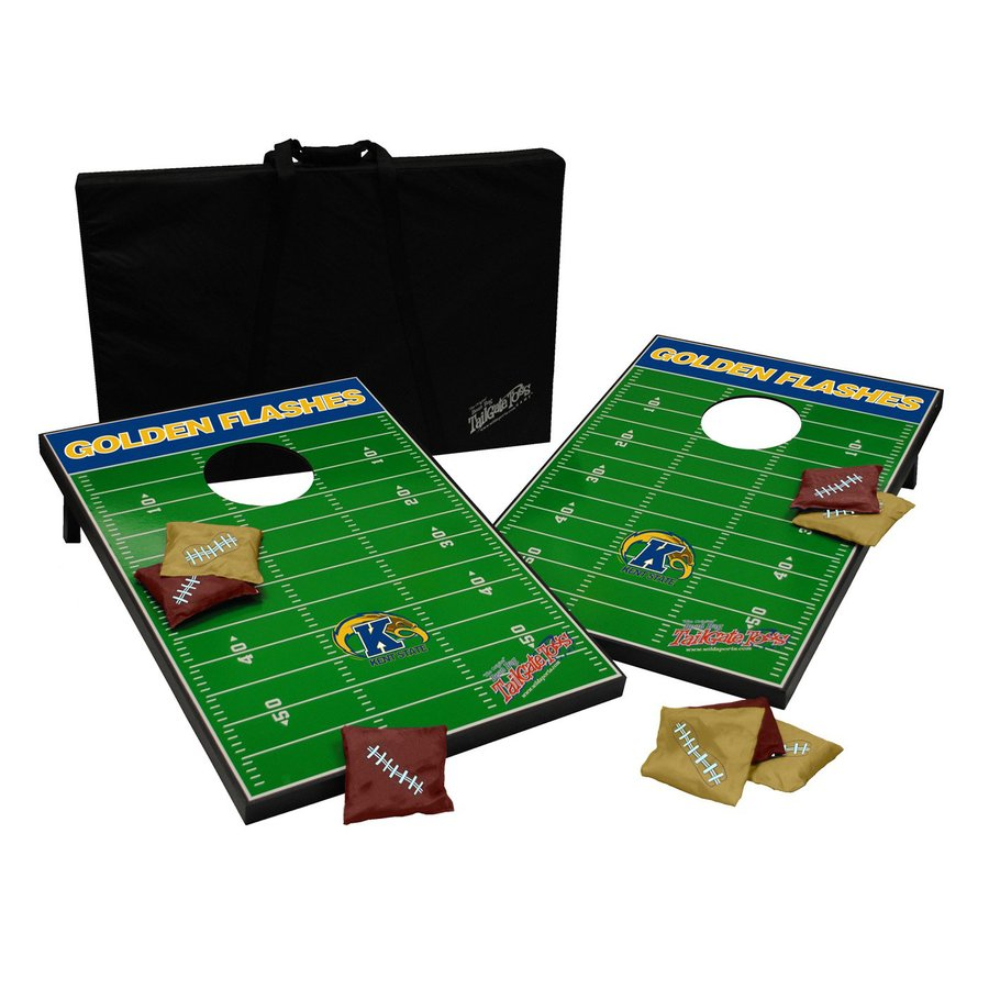 Wild Sports Kent State Golden Flashes Outdoor Corn Hole Party Game