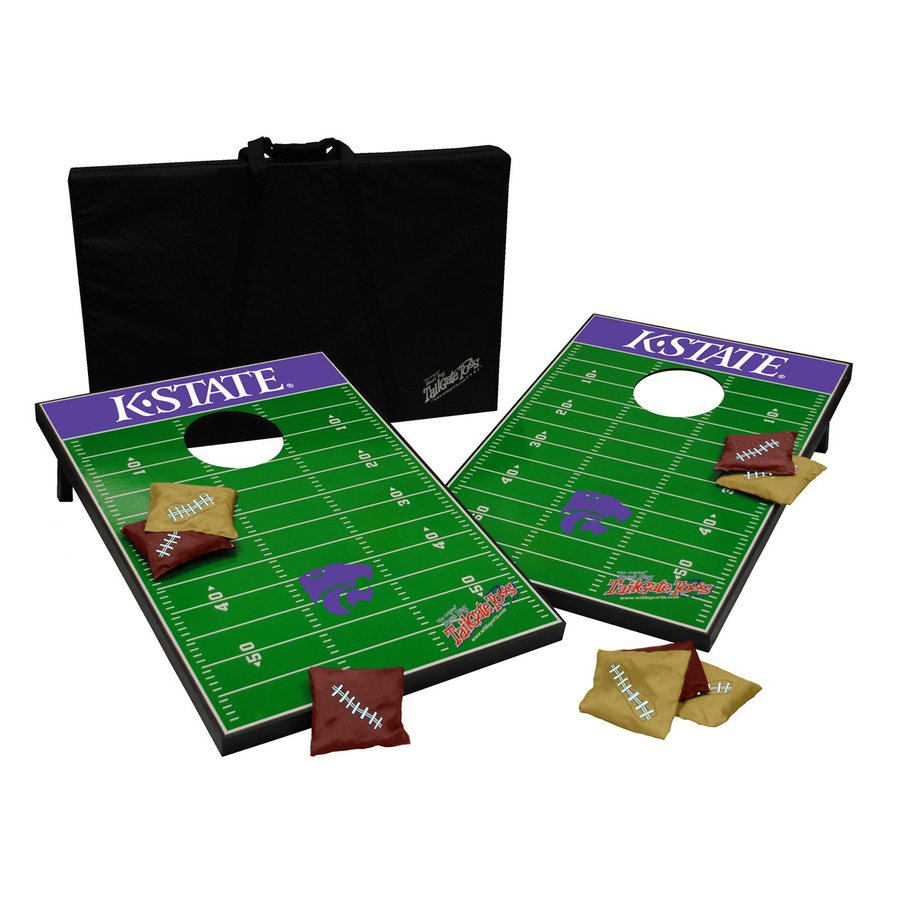 Wild Sports Kansas State Wildcats Outdoor Corn Hole Party Game