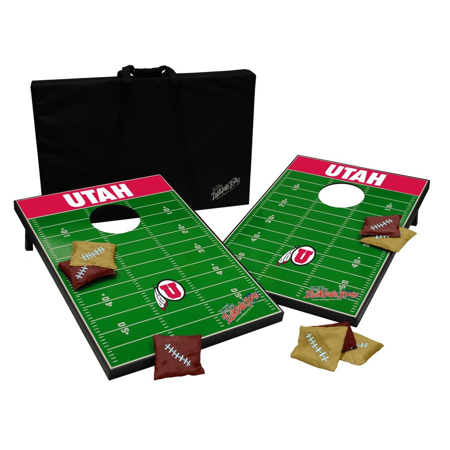 Wild Sports Utah Utes Outdoor Corn Hole Party Game