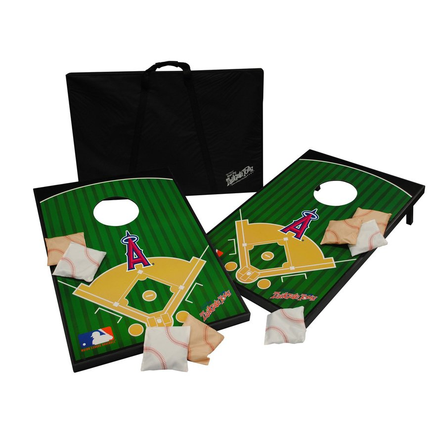 Wild Sports Los Angeles Angels of Anaheim Outdoor Corn Hole Party Game