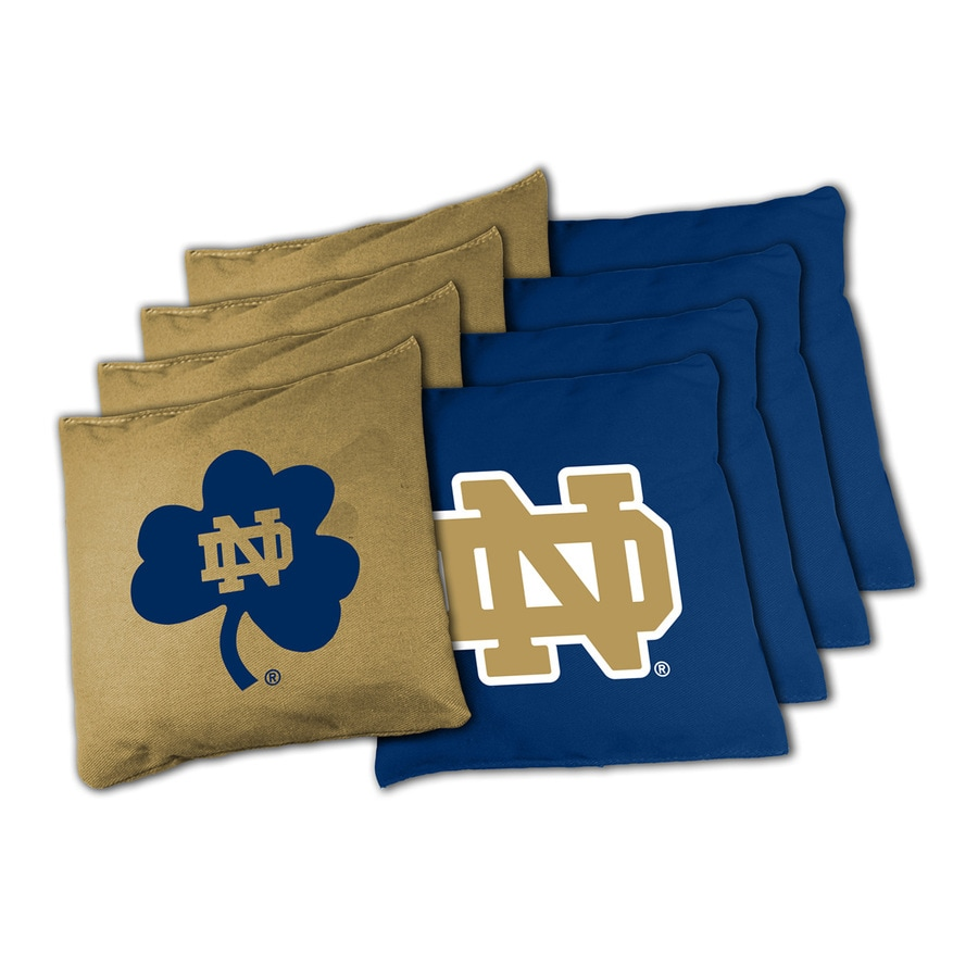 Wild Sports Notre Dame Fighting Irish Outdoor Corn Hole Party Game