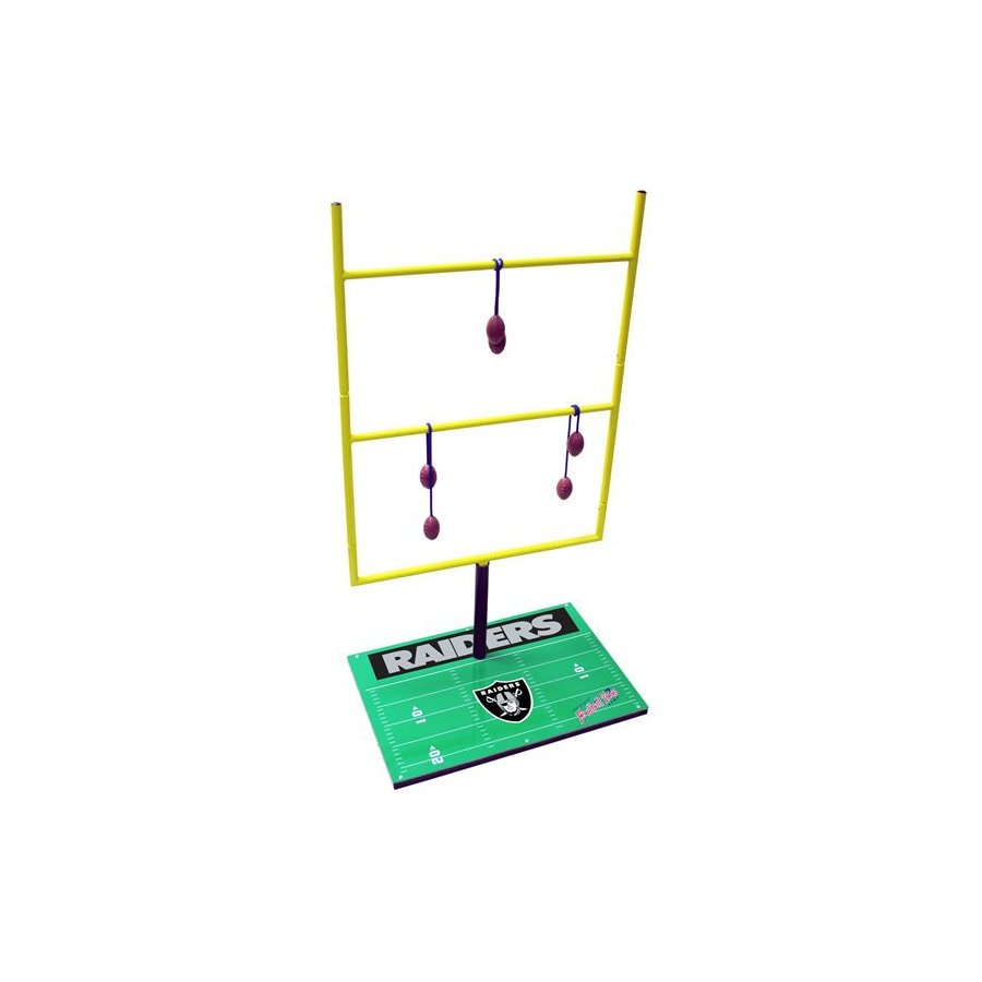 Wild Sports Oakland Raiders Outdoor Ladder Ball Party Game with Case