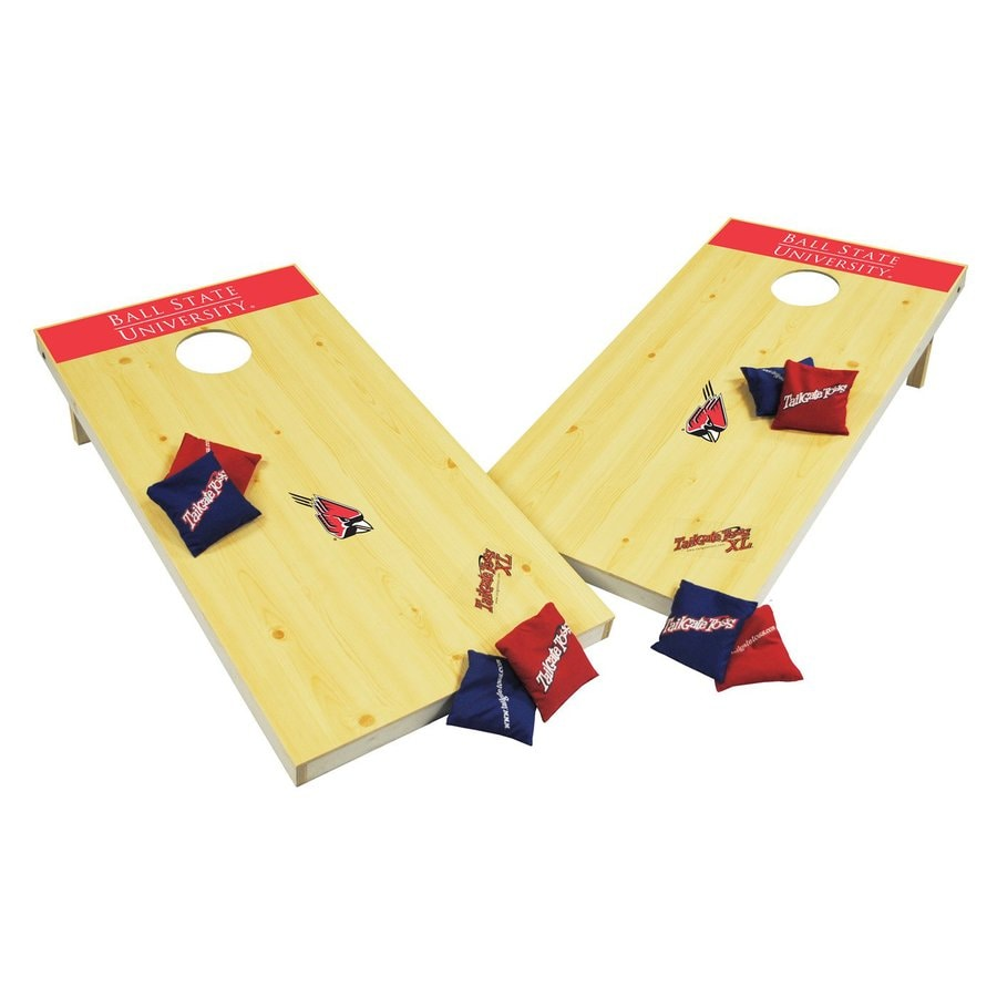 Wild Sports Ball State Cardinals Outdoor Corn Hole Party Game