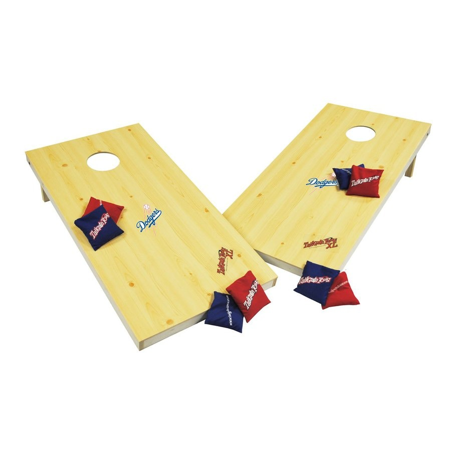 Wild Sports Los Angeles Dodgers Outdoor Corn Hole Party Game