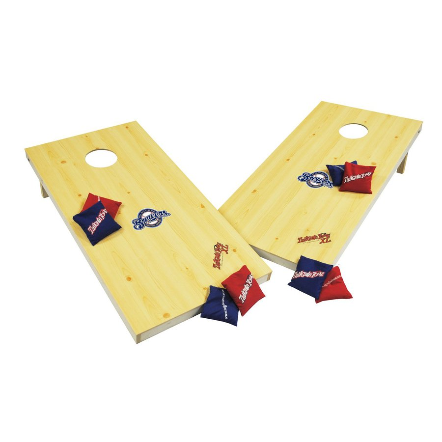 Wild Sports Milwaukee Brewers Outdoor Corn Hole Party Game