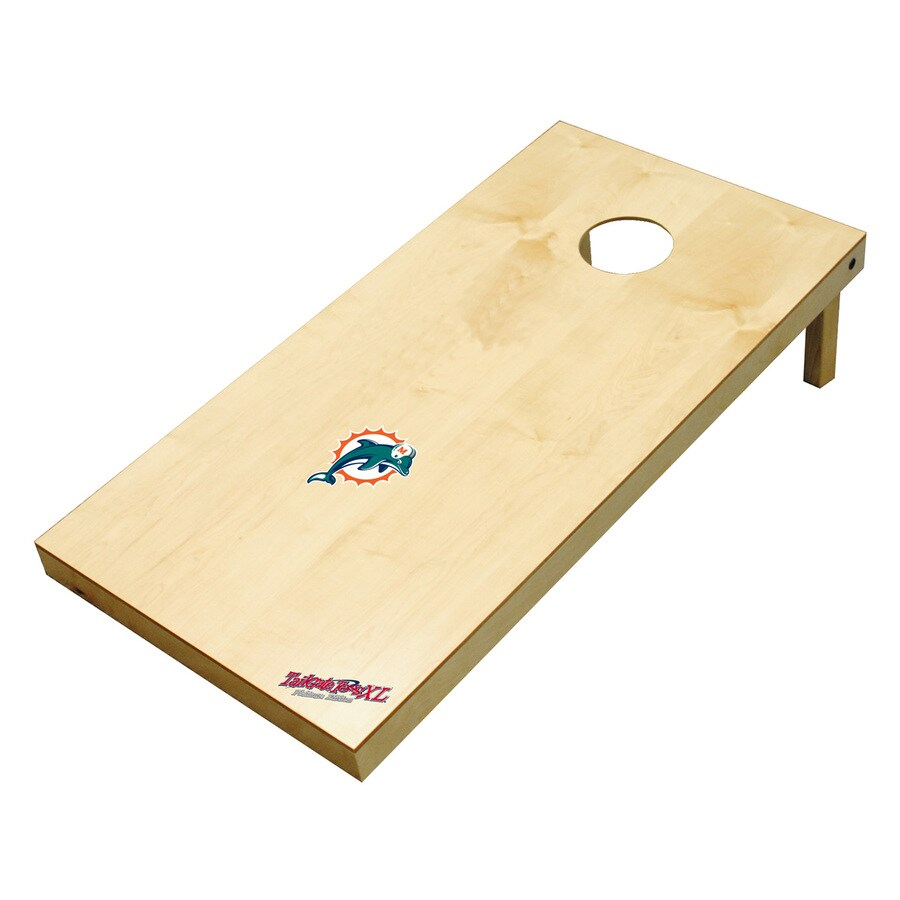 Wild Sports Miami Dolphins Outdoor Corn Hole Party Game