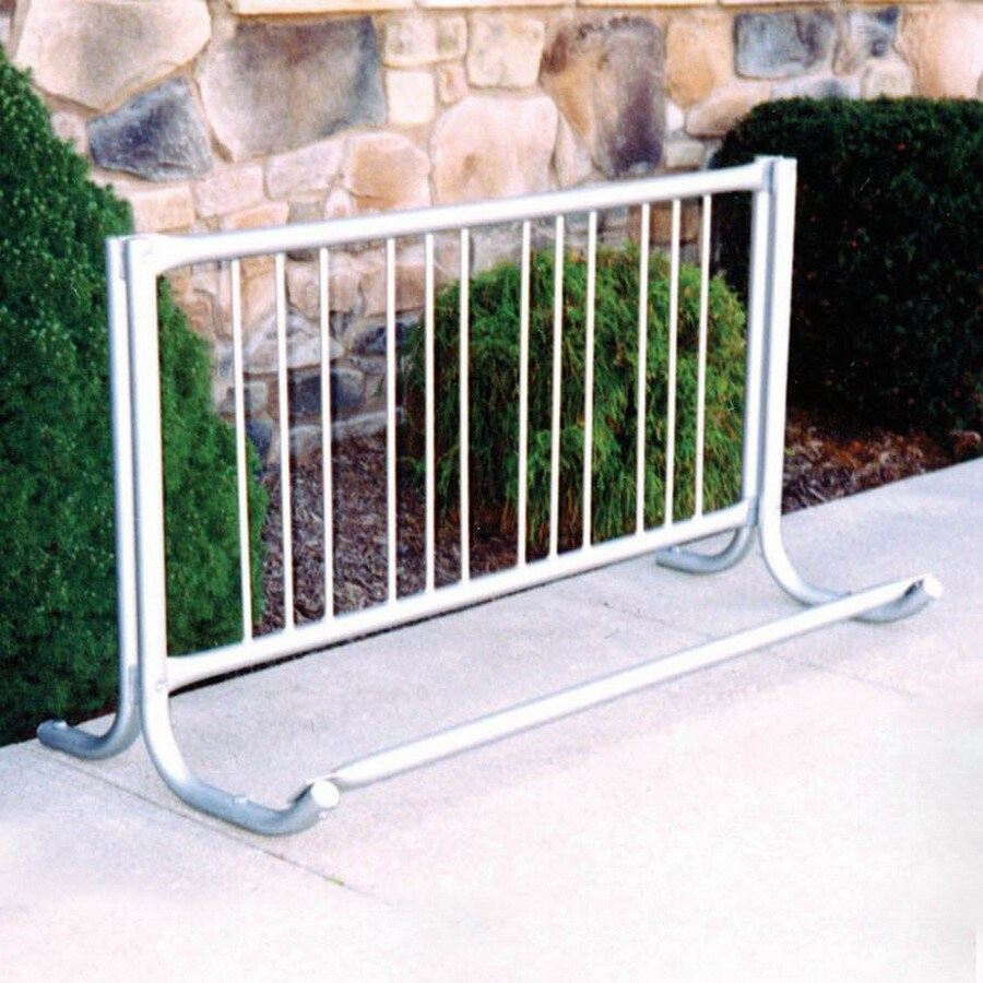 Gared Sports 60-in L 4-Bike Galvanized Steel Bike Rack